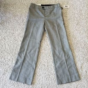 GAP NWT gray women's wool slacks size 2